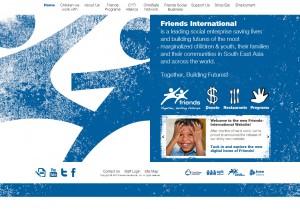 New Friends-International Website