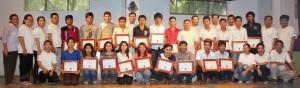 The proud graduates!