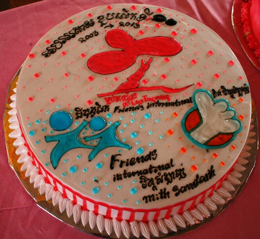 Friends A Birthday Cake IMG 8146