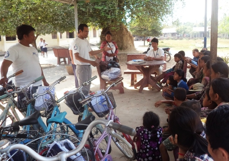 Tablet in Education TIE in Siem Reap, Cambodia but it