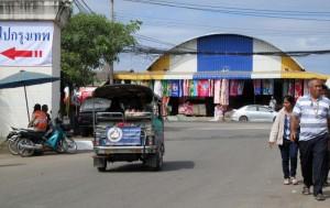 ChildSafe TukTuk in Rongkleau market